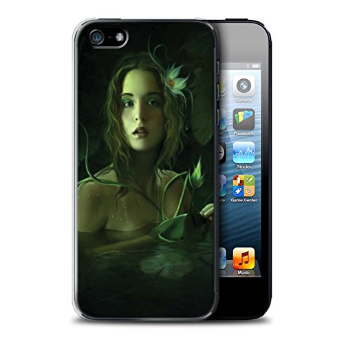 Officiel Elena Dudina Coque / Etui pour Apple iPhone SE / Bain Caché Design / Un avec la Nature Collection Bain Caché