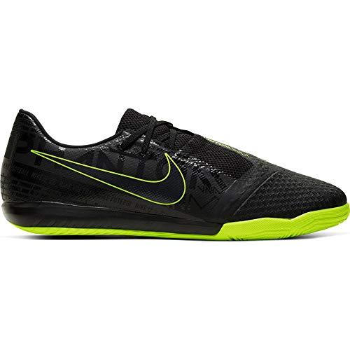 Nike Unisex-Erwachsene Phantom Venom Academy Indoor Fußballschuhe, Mehrfarbig (Black/Black/Volt 7), 45.5 EU