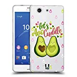 Head Case Designs Avocuddle Alles Ueber Avocados Soft Gel Hülle für Sony Xperia Z3 Compact / D5803