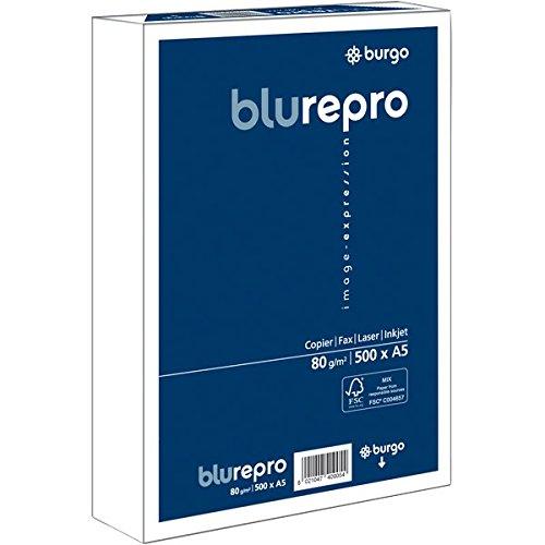 Burgo 1104470 Repro 80, A5, Confezione 10, Blu/Bianco