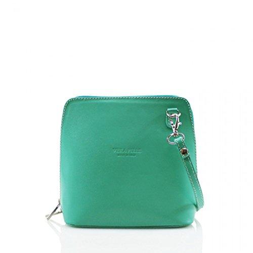 Elegant, Borsa a tracolla donna Turquoise