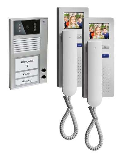 TCS PVC1420-0010 Video Intercom Set