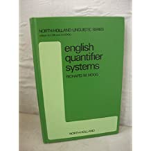 English Quantifier Systems