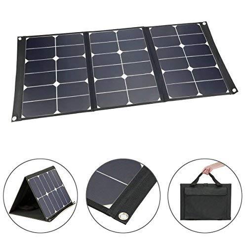 Multifunción. Este panel solar está diseñado para actividades al aire libre, con alta durabilidad y portabilidad, y también le ofrece 2 formas de uso: 1. Conecta tus dispositivos al puerto USB/DC para cargarlo. 2. Utiliza el conector MC4 incluido par...