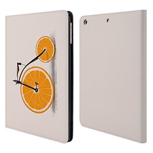 Ufficiale Florent Bodart Vitamine Biciclette Cover a portafoglio in pelle per Apple iPad Air