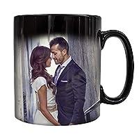 Personalised Colour Changing Heat Mug 10oz. Add Your own Photo Gift Idea Xmas. Magic Mugs