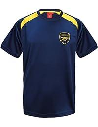 f7e4931b6e1 Arsenal FC Official Football Gift Boys Poly Training Kit T-Shirt