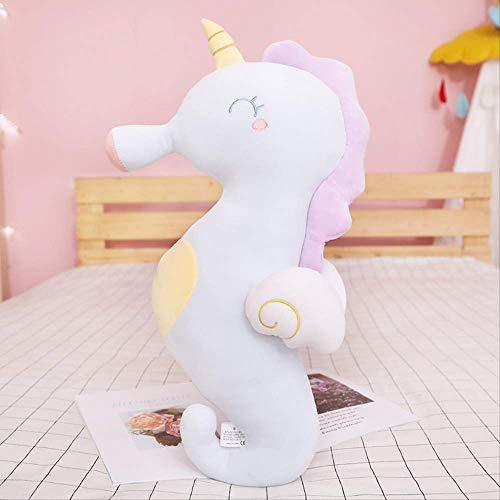 ahzha Seahorse Plush Toy, Funny Marine Creature Pillow doll Cushion, Baby Sleep Pillow Gift 120cm Hippocampus (Stofftier Minion Valentine)