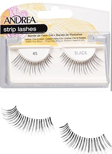 Andrea Mod Lashes Style 45 Black by Andrea