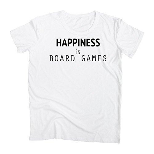 graphke Happiness is Board Games Herren T-Shirt Medium