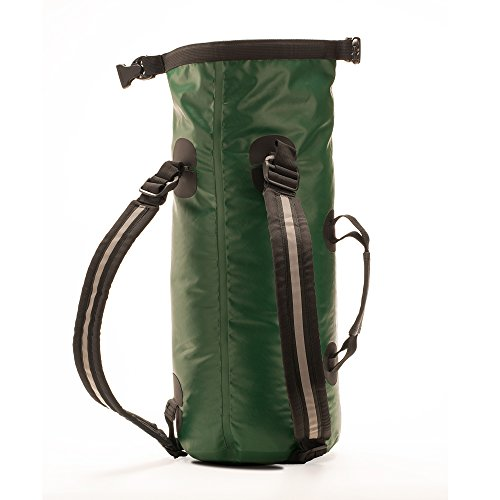 Aqua Quest Mariner 10 – Petit sac à dos étanche pour kayak ou bateau – Taille réglable adaptée aux adultes et aux enfants – Vert, 10L