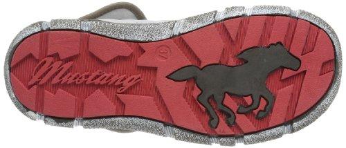 Mustang Schnür 1110-605 Damen Stiefel Elfenbein (off-white 100)