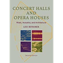 Concert Halls and Opera Houses. Music, Acoustics, and Architecture