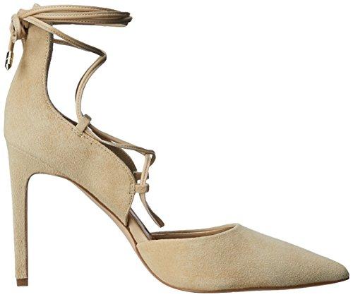 Sam Edelman Dayna, Chaussures à talons - Avant du pieds couvert femme Beige - Beige (DESERT NUDE KID SUEDE)