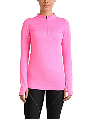 Ultrasport Endurance Kelowna Damen Langarmshirt, Pink,