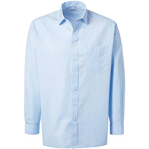 Preisvergleich Produktbild Pionier 6165-43 Hemd Premium Business Line, Hellblau, Größe 43