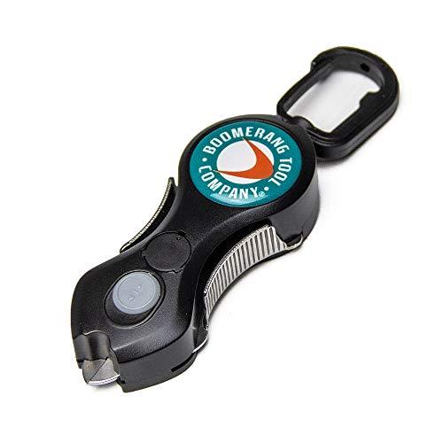 Boomerang Original Snip mit LED Light Fishing Line Cutter, 91,4cm ausziehbare Halteleine, Edelstahl Klingen Schneiden Braid reinigen und glatten Everytime. -