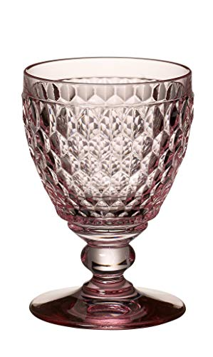 Villeroy & Boch Boston Coloured Verre à vin blanc Rose, 230 ml, Cristal, Rose