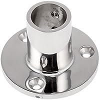 FLAMEER Edelstahl Stangenhalterung Relinghalter Basis 22mm