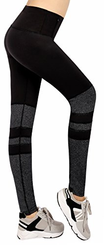Munvot®〖Heißer Winter〗Tailored Damen Sport Leggings(TUMMY CONTROL)Hohe Taille Fitnesshose Blickdichte Leggins Glanz Training Tights Sporthose Strumpfhosen Strech Sweathose Yoga Pants