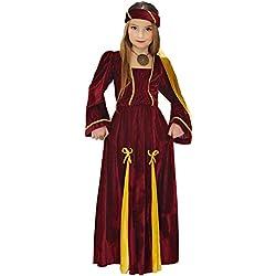 WIDMANN - Disfraz de Princesa medieval para niñas de 11 a 13 años, 158 cm (W1253-L)