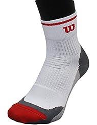 Wilson Men 1pr Ergostep Sock white UK size 8.5-11 Euro 43-46