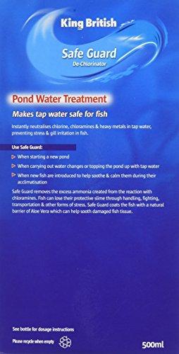 King British Safe Guard - De-Chlorinator for Ponds, 500ml 3