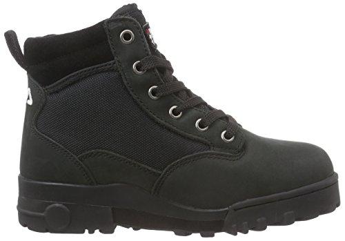 Fila GRUNGE MB00315U COL. 970 Unisex-Erwachsene Boots Schwarz (Black)