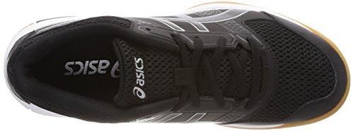 Asics Gel-Rocket 8, Scarpe da Pallavolo Uomo Nero (Black/Black/White)