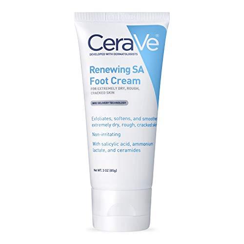 Cera Ve Renewing System, Sa Renewing Foot Cream, 3 Ounce