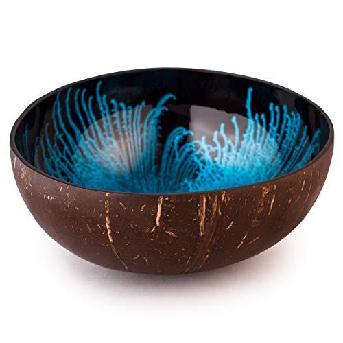 Kaloogo® Cocobowl Splash Kokosnuss Schale (blau)
