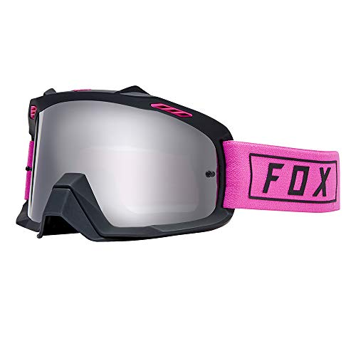 Fox Gogle Air Space Gasoline Pink - glass Chrome Spark