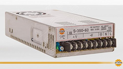 ACT MOTOR GmbH 1PC Power Supply 350W 60V Stepper Motor Nema34 CNC