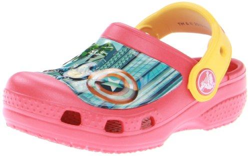 Crocs Marvel Avengers Ii Clog (enfant / petit Kid), Red/Canary, 21