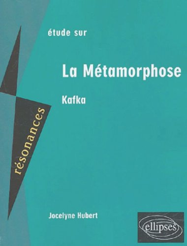 Etude sur La Mtamorphose, Kafka