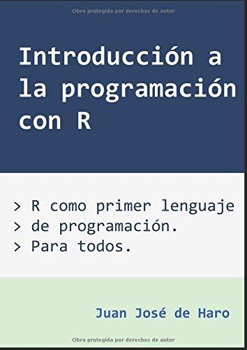 PDF Introducción a la programación con R