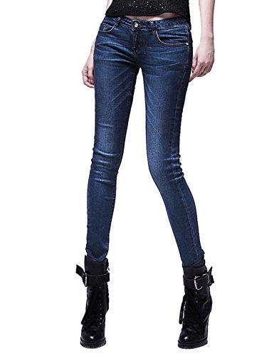 Demon&Hunter 812 Series Women's Rise Demi Curve Skinny Jeans