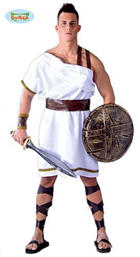 Spartanischer Gladiator Karneval Kostüm für Herren in Gr M/L, (Krieger Spartanischer Kostüm)
