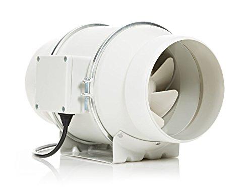 STERR - Silenziosa ventola di aspirazione in linea per condotti 150-160 mm - DFA150