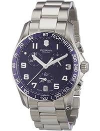 Victorinox Herren-Armbanduhr XL Classic Analog Edelstahl 241497