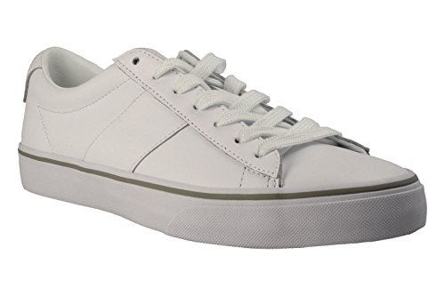 Ralph Lauren Baskets 816-702987-001 Sayer Blanc 43 Blanc