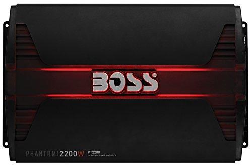 BOSS Audio PT2200 Phantom 2200W 2 Kanal, Klasse-A/B-Verstärker - Car Audio Boss