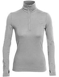 Icebreaker Tech Top Sous-vêtement thermique manches longues Femme