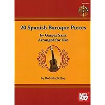 20 Spanish Baroque Pieces By Gaspar Sanz,