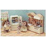 Sylvanian Families - 5341 - landhuiskeuken met koelkast NIEUW