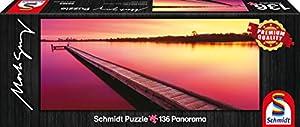 Schmidt Spiele 59365 - Mark Gray, Río Canning - Australia Occidental, clásico Puzzle, 136 Piezas