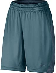 Nike W Nk Pantalón Corto de Baloncesto, Mujer, Azul (Smokey Blue / Squadron Blue / Squadron Blue), L