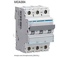Schalter Schalter Magn.3P 4A 6KA C 3M Hager mca304