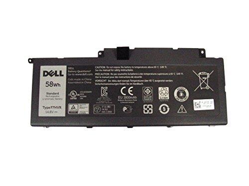 Original Dell Inspiron Akku für 15(7537) und 17(7737) 4Zellen, 58WHR Akku, Typ F7HVR, Dell P/Ns: G4YJM, t2t3j, 451-bbeo