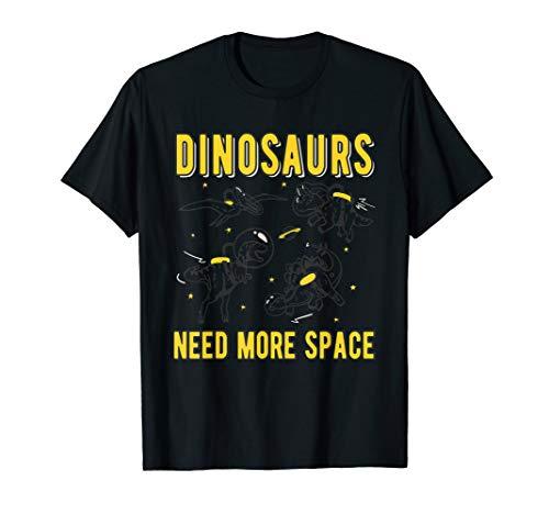 Dinosaurier brauchen Platz Funny Retro T-Shirt -